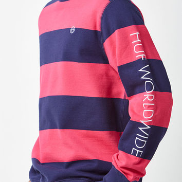 HUF Catalina Striped Crew Neck Sweatshirt at PacSun.com