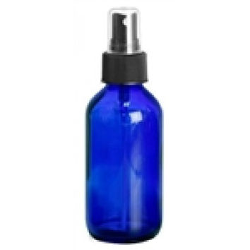 4 oz. Cobalt Blue Glass Mister Bottle