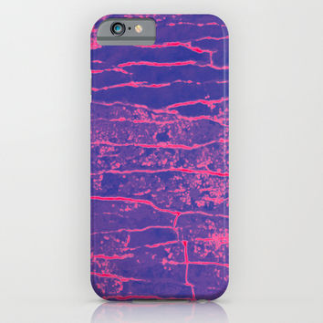 Stone purple iPhone & iPod Case by Julius Marc