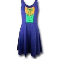 Joker A-Line Scoop Neck Dress