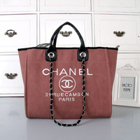 shosouvenir :CHANEL Women Shopping Bag Leather Handbag Satchel Shoulder Bag Crossbody