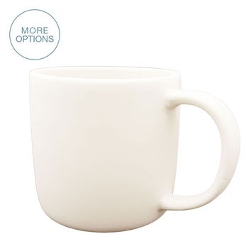 Matte Porcelain USA Made Mug- Regular