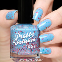 Pretty & Polished Blue Jean Baby Nail Polish
