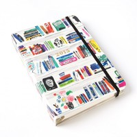2015 Artsy Bookshelf 17-Month Weekly Agenda by Kate Spade New York - Calendars & Planners - Gifts
