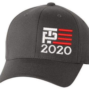 Make America Great Again- Donald Trump Pence Hat 2020-US NEW ERA Snapback Charcoal Cap