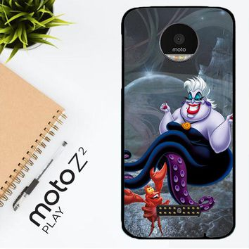 Ursula Octopus Little Mermaid D0096 Motorola Moto Z2 Play Case