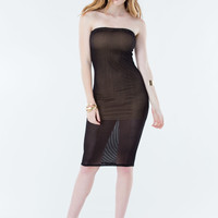 Making A Mesh Bodycon Dress