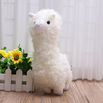 Party gifts for kids birthdays Alpaca Soft Plush Alpaca Doll Toy Stuffed Animal Bolster Valentine's Day Gift