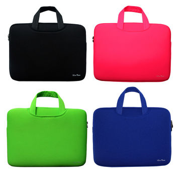 "Portable Ultrabook Notebook Soft Sleeve Laptop Bag Case Smart Cover for MacBook Pro for iPad Pro Retina 15.6""  15 inch Handlebag"