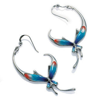 Franz Collection Butterfly Earrings