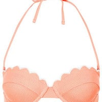 Tangerine Scallop Bikini Top - New In This Week  - New In