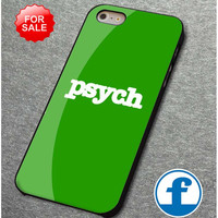 Psych for iphone, ipod, samsung galaxy, HTC and Nexus PHONE CASE