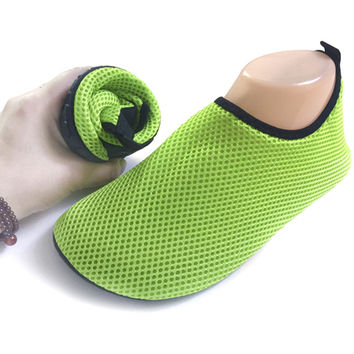 Mesh Sandals Flat Wade Beach Shoes Swimming Shoes sapato feminino Summer Breathable sandalias mujer RD642152