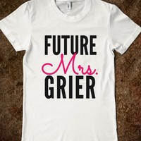FUTURE MRS. GRIER T-SHIRT (IDB722115)
