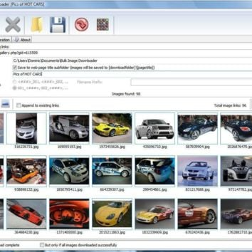 Bulk Image Downloader 4.96 Crack Incl Registration Code