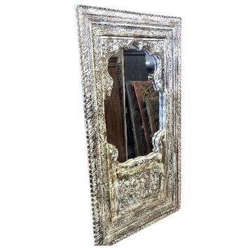 Antique Jharokha Hand Carved Floor Mirror