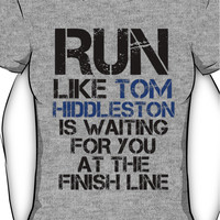 Run Like Tom Hiddleston is Waiting Women's T-Shirt