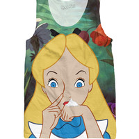 Alice in Cocaland Tank Top