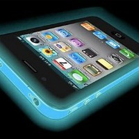 Iphone 4 GLOW IN THE DARK Case (Blue) Silicone Protective Case for iPhone 4 and 4S
