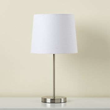 Light Years Table Base (Nickel) in Mix-And-Match Table Lamps | The Land of Nod