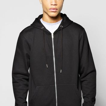 Zip Through Hoodie