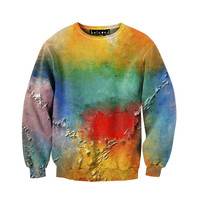 Paint on Canvas Sweatshirt