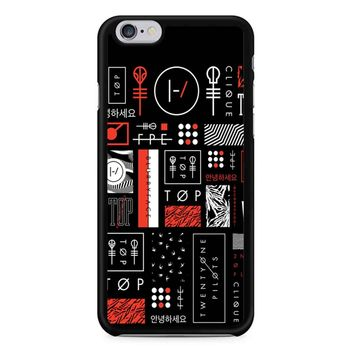 Twenty One Pilots 1A Behind Blurryface iPhone 6/6S Case