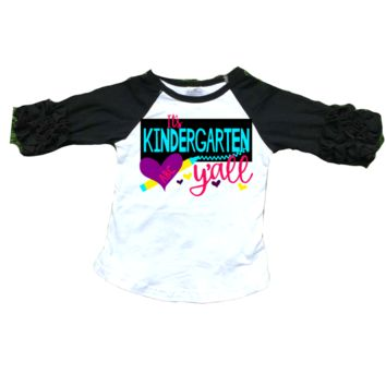 Custom -Pre-k -5th Yall (customized with your child's grade)