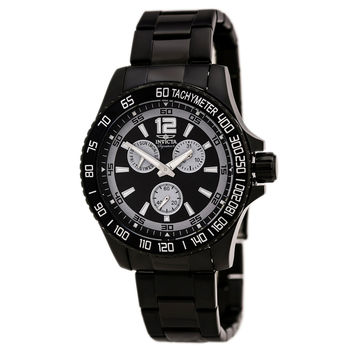 Invicta 7012 Men's Signature II Black Dial Black IP Steel Quartz Watch