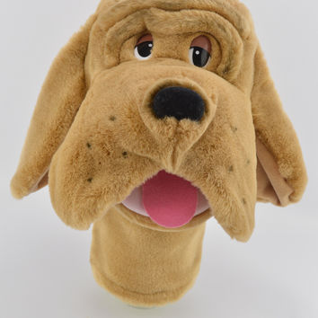 Aurora Plush Hound Dog Stage Hand Puppet