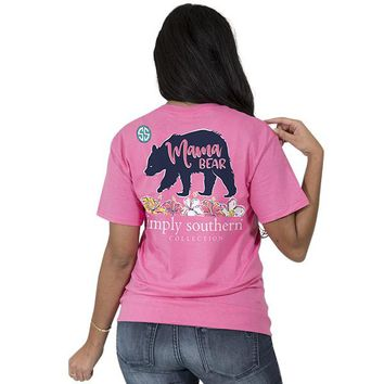 "Simply Southern ""Mama Bear"" Short Sleeve Tee"
