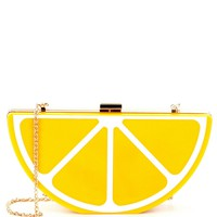 Kate Landry Fruit Frame Clutch | Dillards
