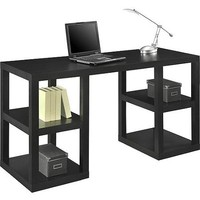 Mainstays Double Pedestal Parsons Desk, Multiple Colors - Walmart.com