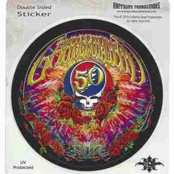 Grateful Dead - 50th Anniversary Decal