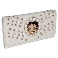 Betty Boop - Circle Betty Off-White Women's Wallet