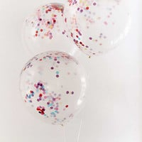 Ginger Ray Jumbo Rainbow Confetti Balloon Set | Urban Outfitters