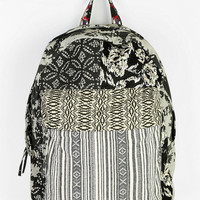 Ecote Mixed Pattern Backpack