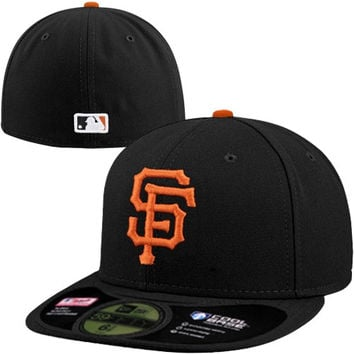 New Era San Francisco Giants On-Field Performance 59FIFTY Fitted Hat - Black