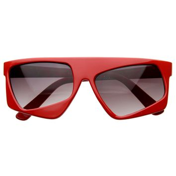 Futuristic Party Novelty Asymmetric Tilted Crooked Sunglasses
