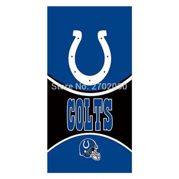 Helmet Indianapolis Colts Flag hanging World Series Football Team 3ft x 5ft Helmet Banner Super Bowl Champions Fans Banners