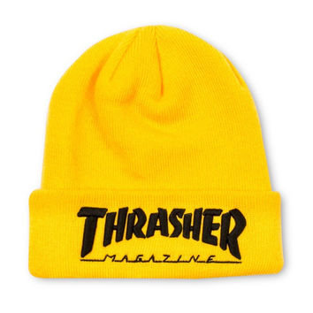Thrasher Magazine Yellow Beanie