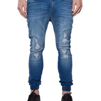 Park Blaster Destroy Pursuit Jogger Jeans | Men's Jeans | Hallenstein Brothers