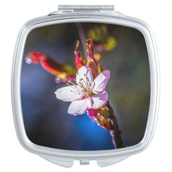 Sakura - Japanese cherry flower Vanity Mirror