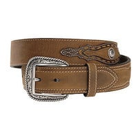 Ariat Night Herder Men's Western Leather Belt-Brown