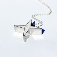 North Star Necklace - Polaris, heavenly body, night sky, satellite, twinkle, sun, asterisk, nature pendant