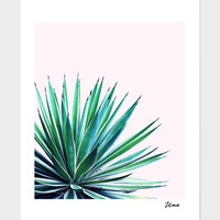 «Agave Love», Numbered Edition Fine Art Print by Uma Gokhale - From $20 - Curioos