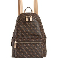 Leeza Logo Backpack at Guess