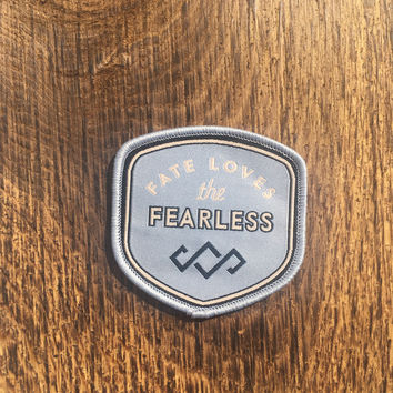 Embroidered Patch - Fearless Logo