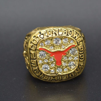 Texas Longhorns High Quality Replica 1999 Cotton Bowl Football Championship Ring Replica for M