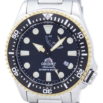 Orient Sports Automatic Diver's 200M Power Reserve Japan Made RA-EL0003B00B Men's Watch